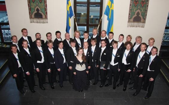 Studentsångarna 2008. Foto: Johan Mellström